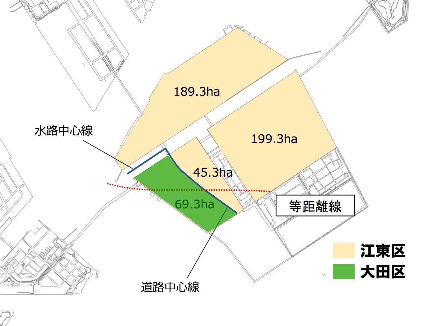どの区の土地か決まっていなかった中央防波堤埋立地、86.2%が江東区の土地に