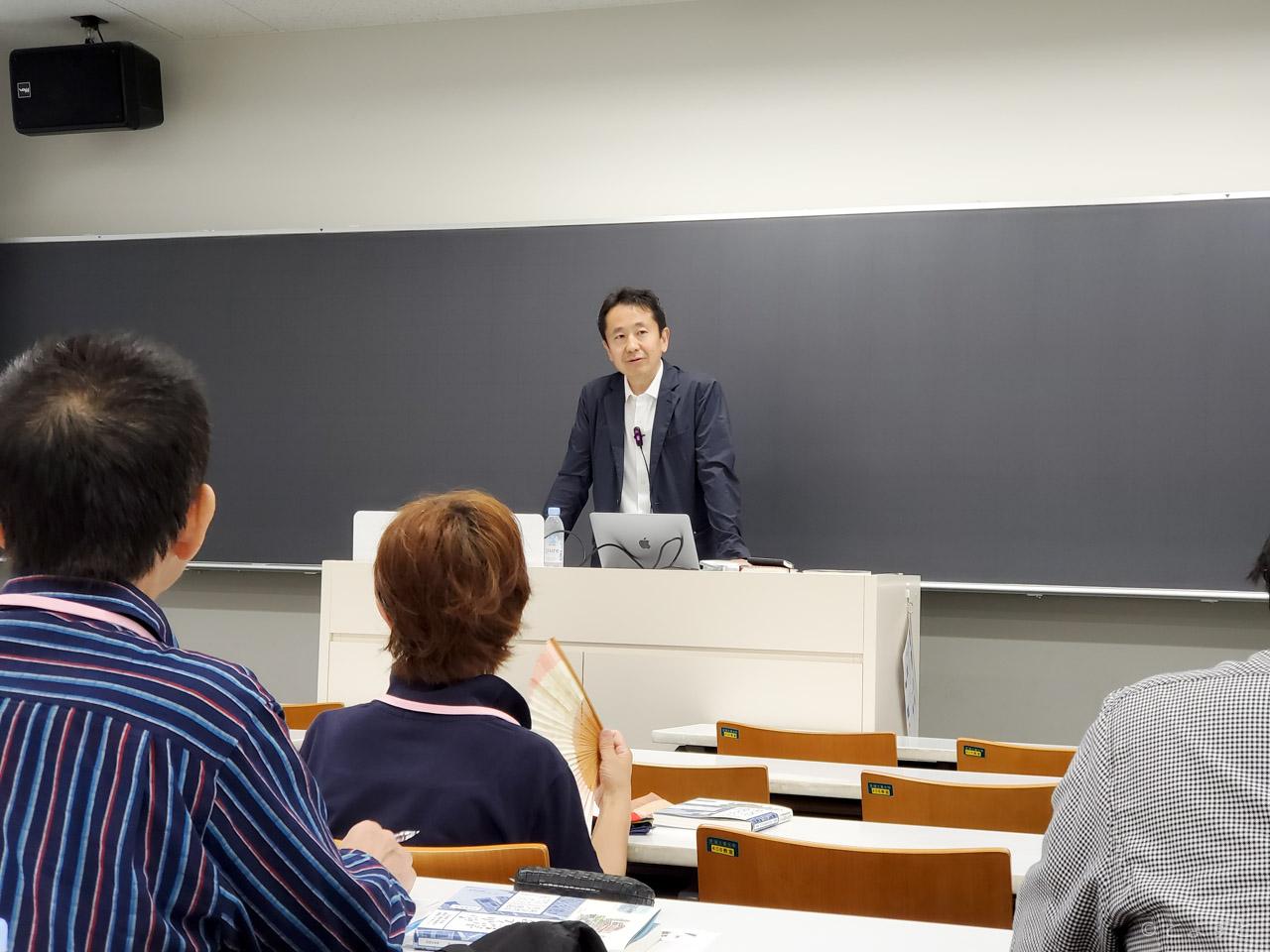 志村秀明教授