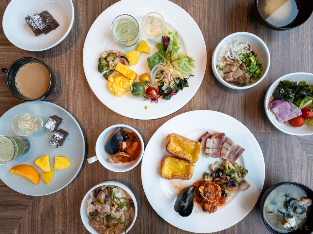 三井ガーデンホテル豊洲ベイサイドクロスの朝食ビュッフェ