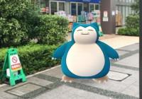 【ポケモンGO】豊洲でカビゴンが出現!