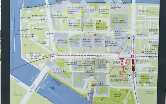 豊洲1・2・3丁目のすべてのビルとタワマンがわかる地図はこれ