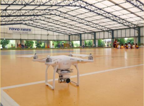 個人でも豊洲でドローンを飛ばせる!屋内型ドローン練習場「DRONE COURT 豊洲コート」がオープン