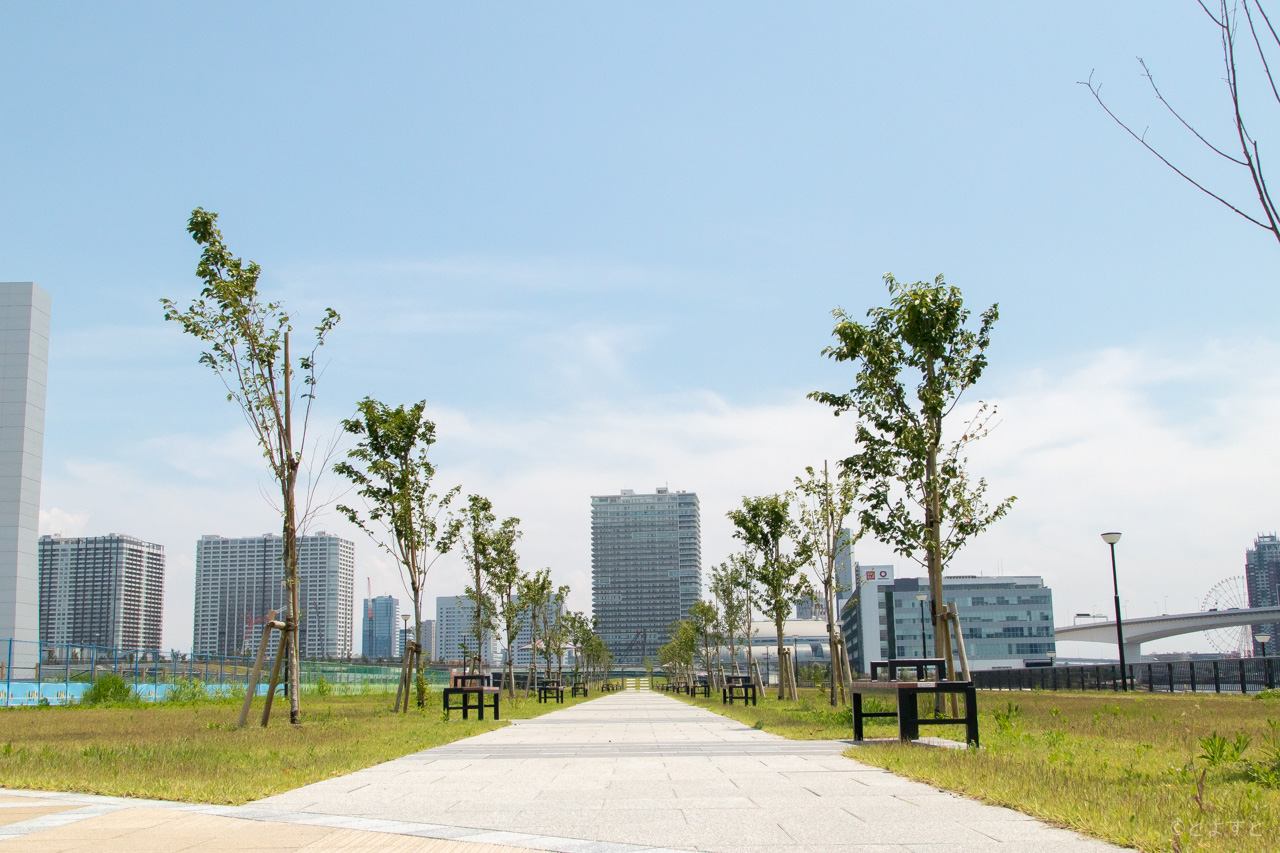 「豊洲ぐるり公園(東京都江東区豊洲6-6)」の画像検索結果
