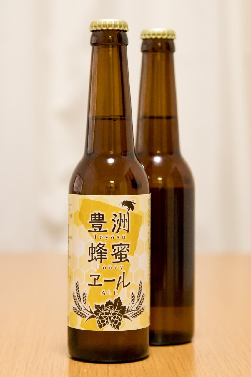 豊洲のクラフトビール 豊洲蜂蜜エール
