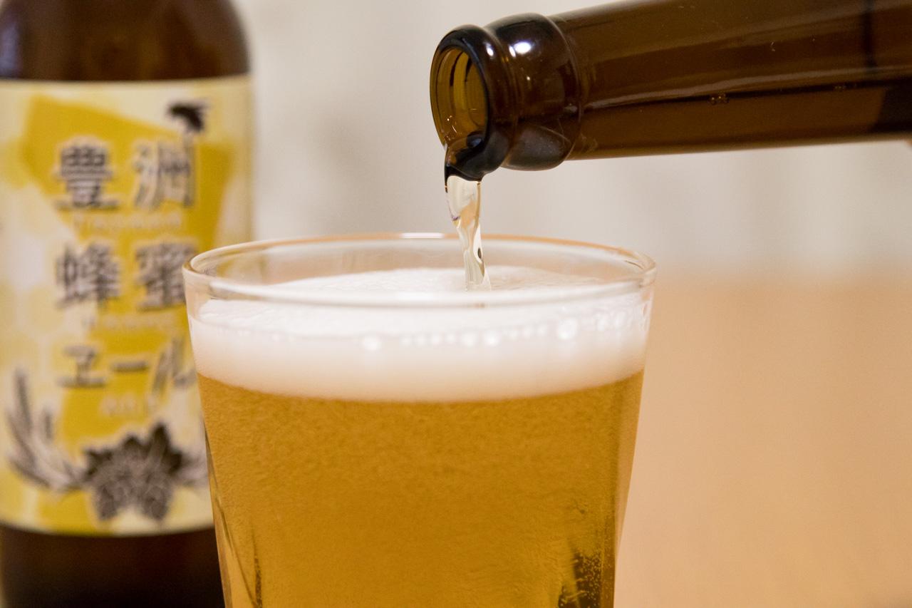 豊洲の地ビール「豊洲蜂蜜エール」が販売されていたので購入