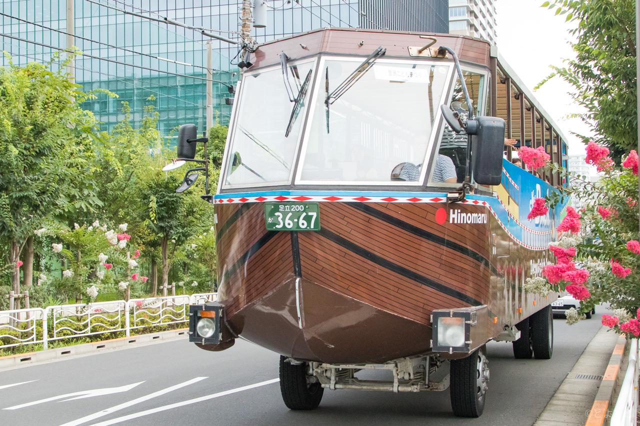 豊洲町会「夏休み子どもまつり2017」を開催、水陸両用バスの試乗が超人気!