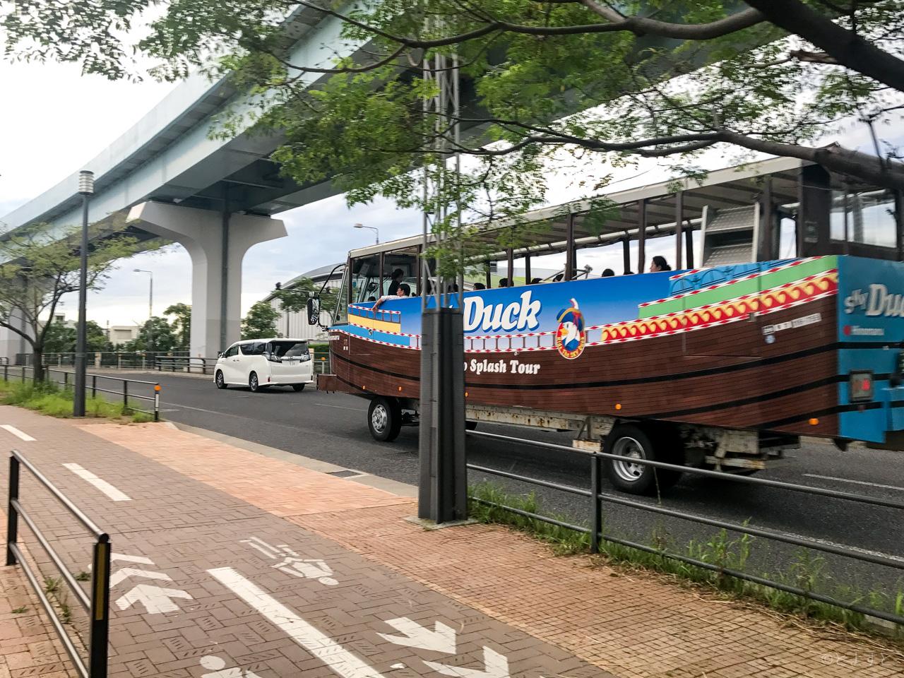 豊洲〜お台場の水陸両用バス「スカイダック東京2017」、料金・時刻表・ルートが決定!9/26運行開始
