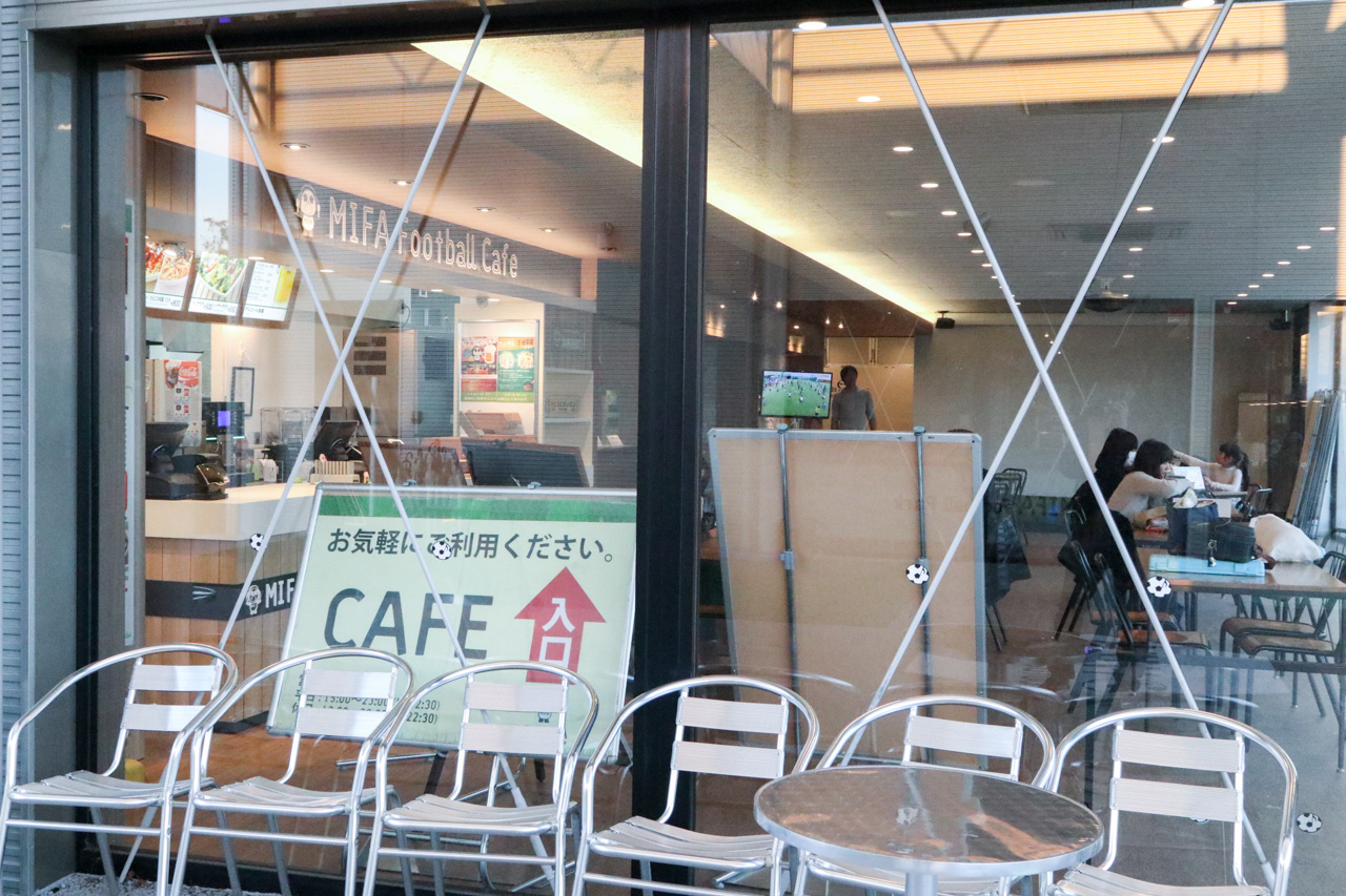 MIFA Football Cafeは新豊洲駅前だし、豊洲PITのすぐ近くなので打ち上げにも最適